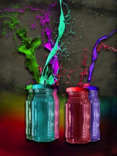 Cum poti da viata obiectelor vechi cu un spray vopsea?