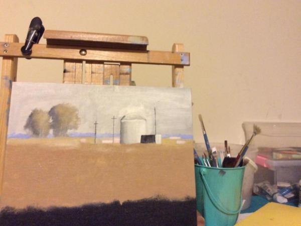 8 sfaturi valoroase pentru artistii care picteaza pe panza