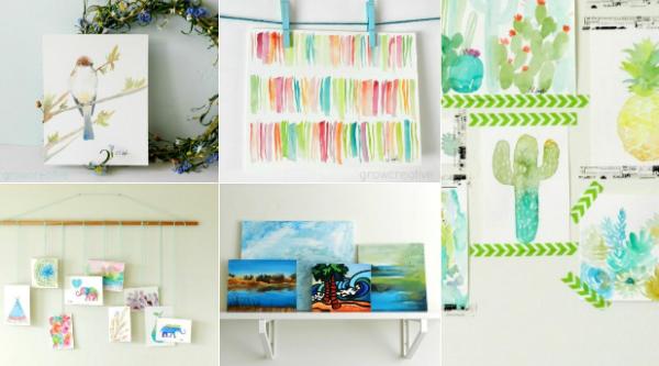 5 modalitati creative de expunere a picturilor tale favorite