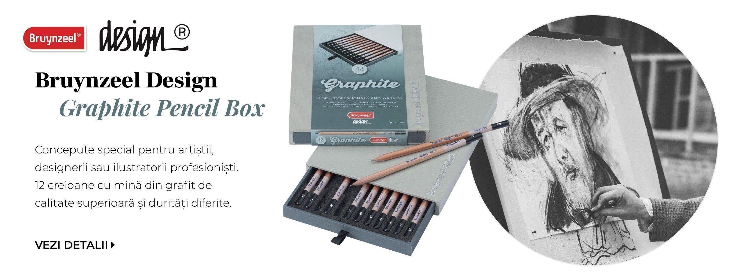 Set creioane Bruynzeel Design Box