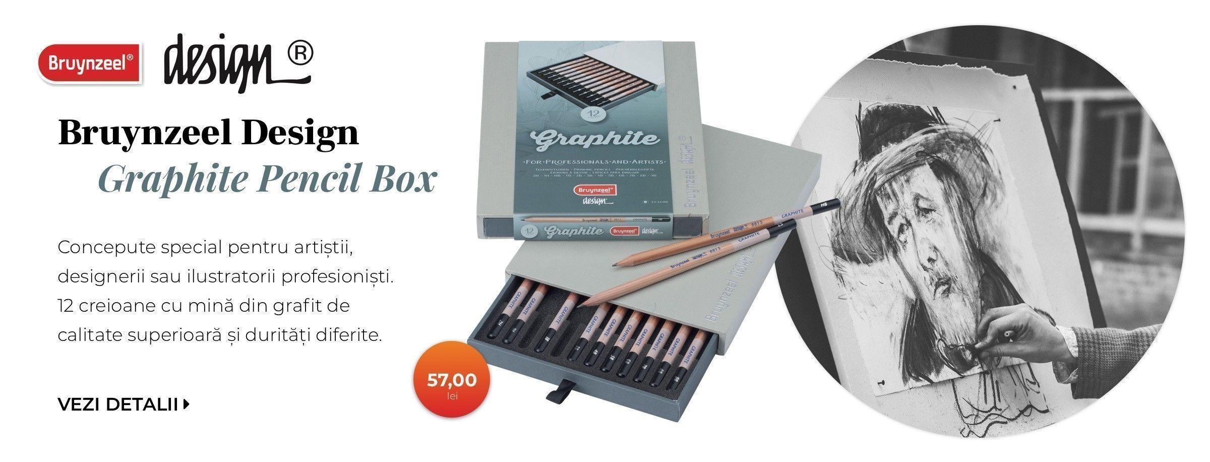 banner Bruynzeel Design Graphite Box