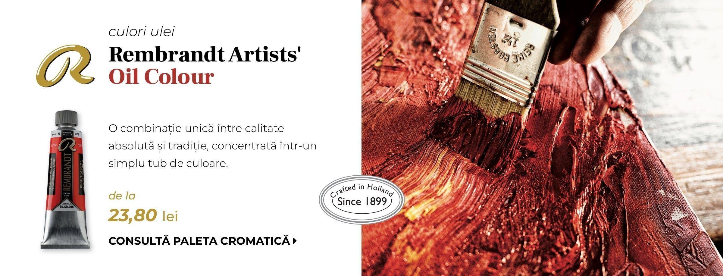 Banner culori ulei Talens Rembrandt
