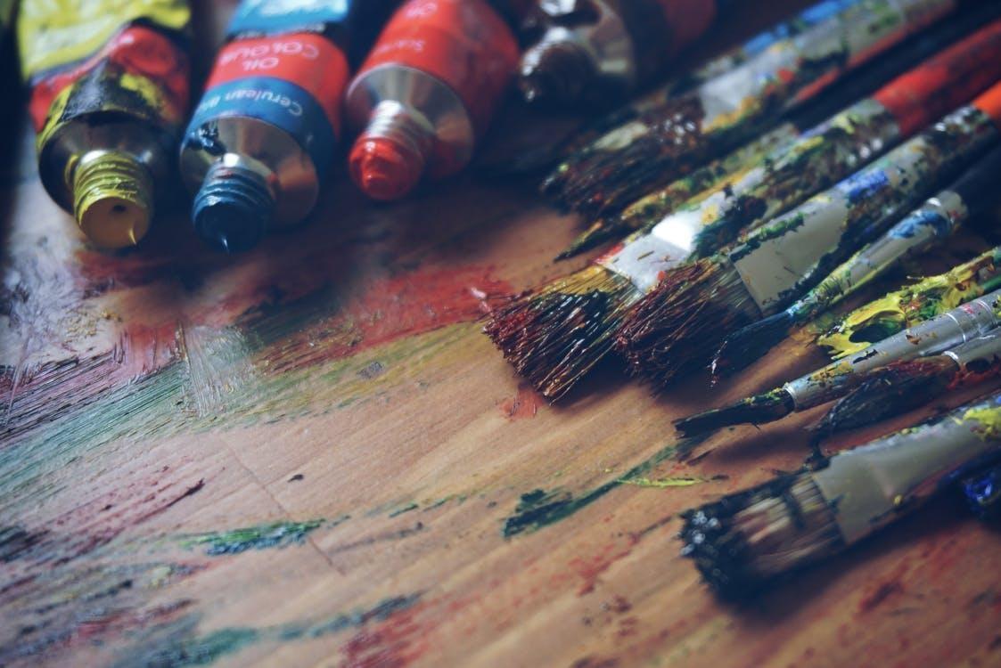 5 instrumente necesare pentru a realiza o pictura in ulei