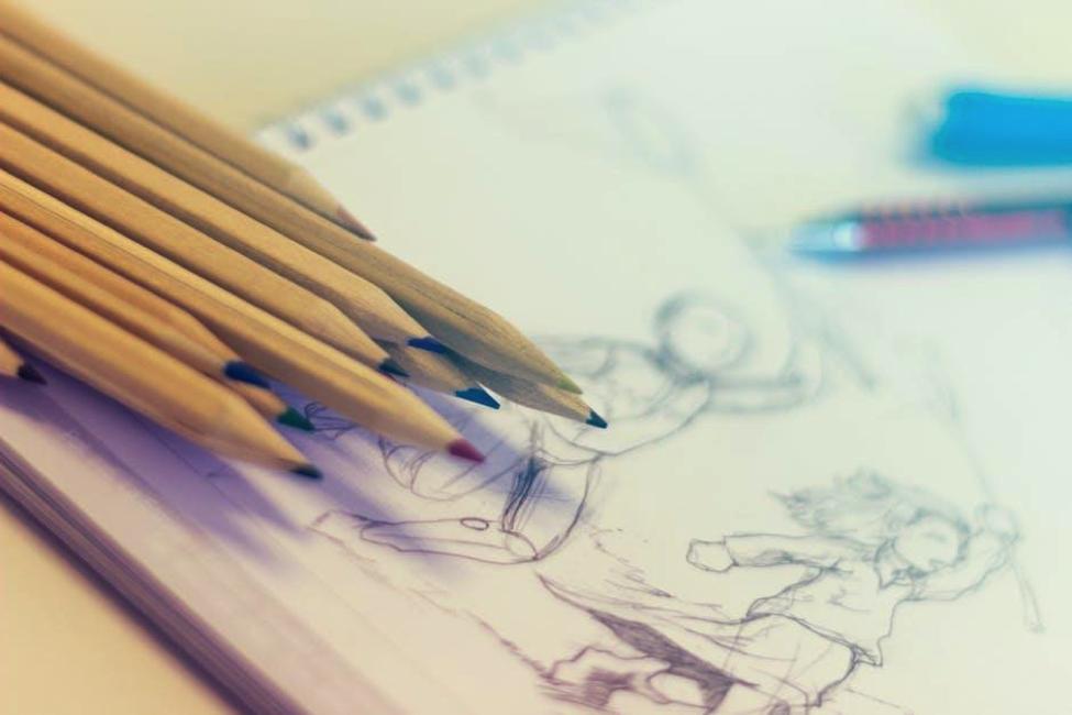 4 reguli pe care nu le stiai despre creioanele colorate si tehnica desenului