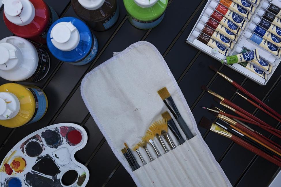 Culori acrilice vs ulei