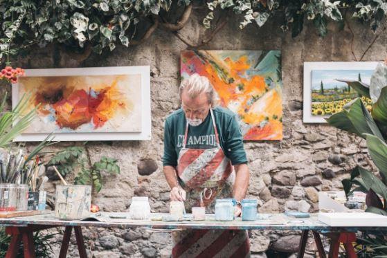 Pictura in ulei pentru incepatori - tot ce trebuie sa stii