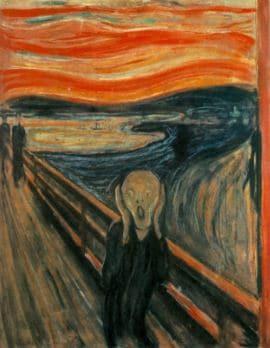 urletul pictura